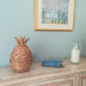 Wicker Pineapple